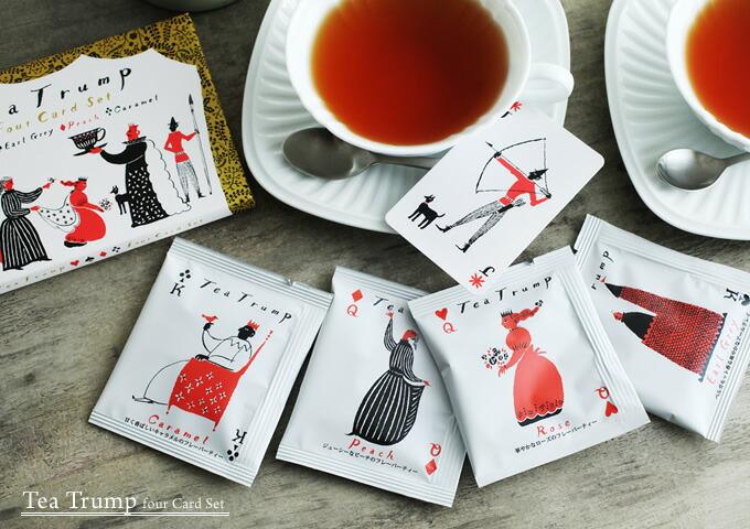 「紅茶 ティートランプ フォーカードセット」的圖片搜尋結果