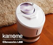 kamome クレベリンLED搭載ハイブリット式加湿器