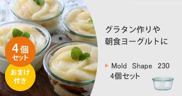 Mold Shape 230 4個セット