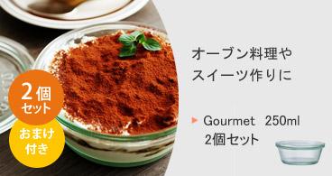 Gourmet 250 2個セット