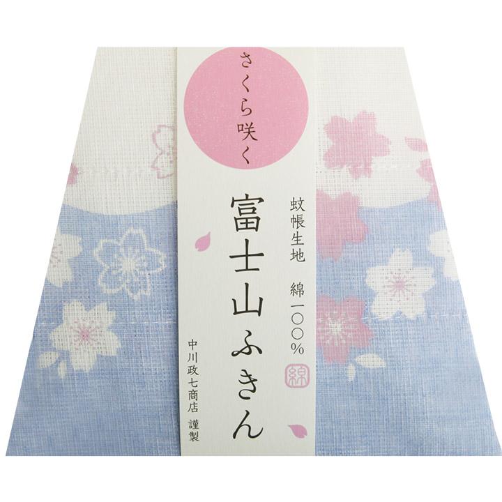 さくら咲く富士山ふきん