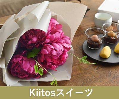 Kiitosスイーツ 高貴なシャクヤク 濃ピンク