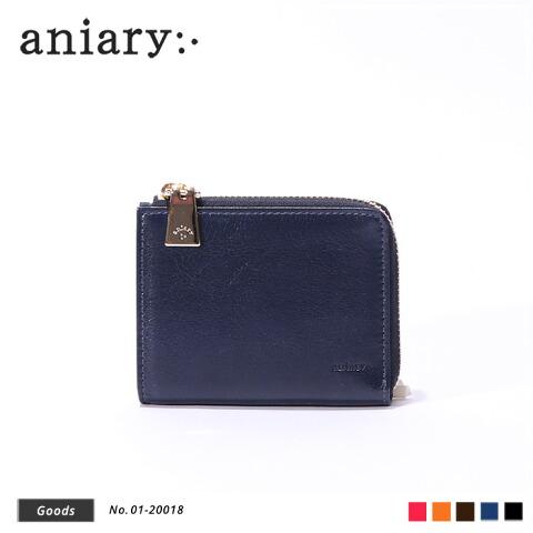 【aniary アニアリ】Antique Leather アンティークレザー牛革 Goods ウォレット 財布 01-20018 [送料無料]