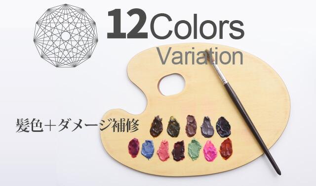 9COLORS Variation 髪色+ダメージ補修
