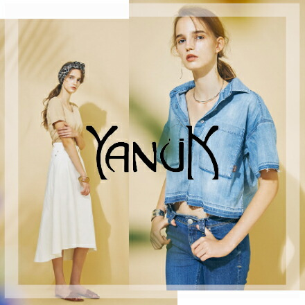 YANUK(ヤヌーク)2014 spring∑mer collection
