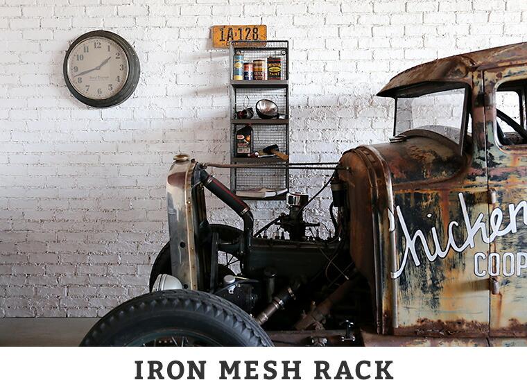 IRON MEESH RACK