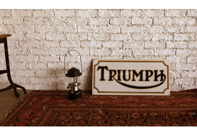TRIUMPH SIGN REPRODUCTION