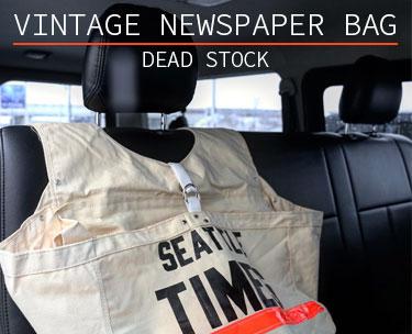 VINTAGE NEWSPAPER BAG DEAD STOCK