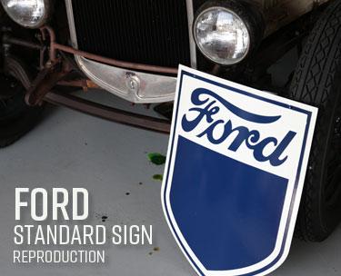 フォードスタンダードサイン
