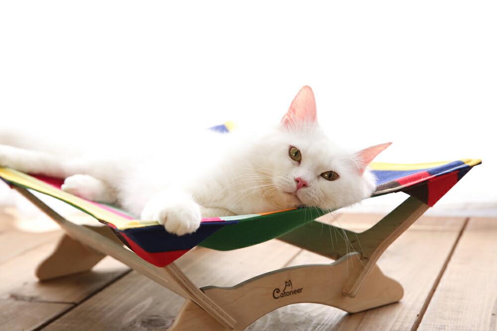 一生モノの猫ハンモック