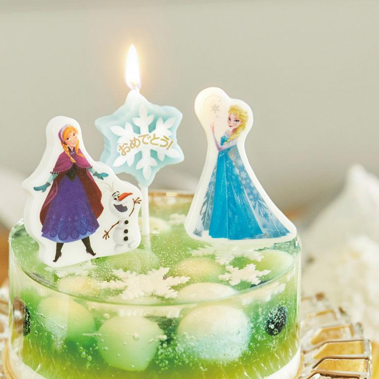 【ケーキ用キャンドル】【ディズニー】【キャラクター】【パーティー】【バースデーキャンドル】【記念日】【キャンドル】【イベント】【ディズニー】【スイーツ】【アナ】【エルサ】【オラフ】【アナ雪】