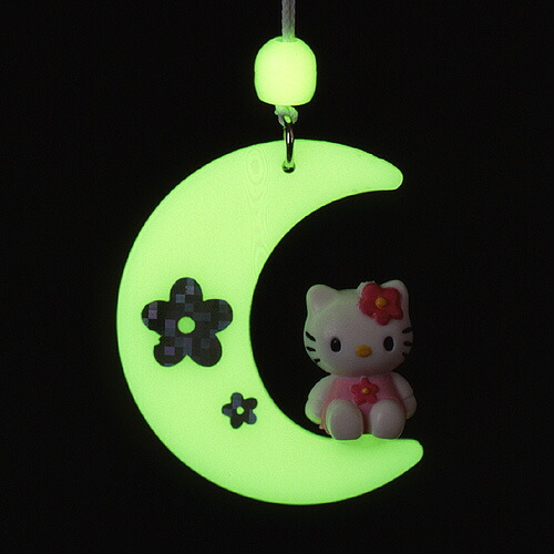 電材 電気 照明 コード 蓄光 キティ