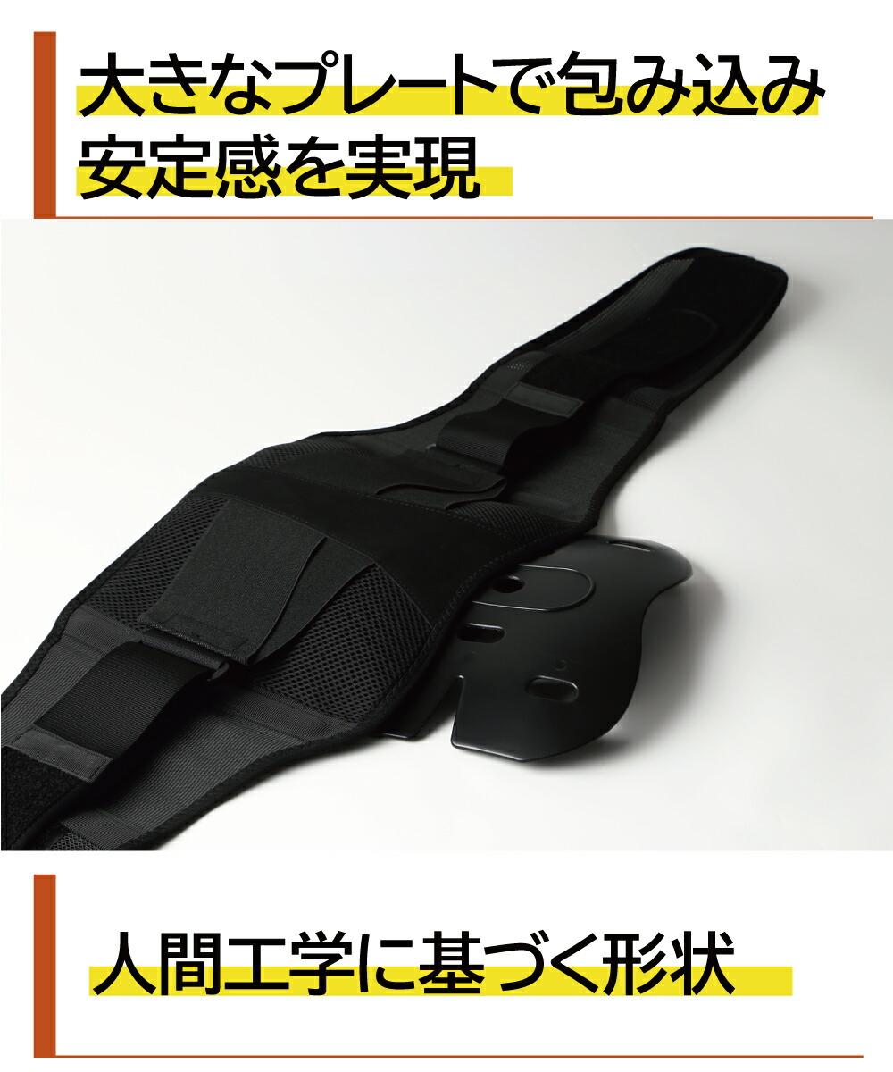 腰痛ベルト 腰サポーター 説明