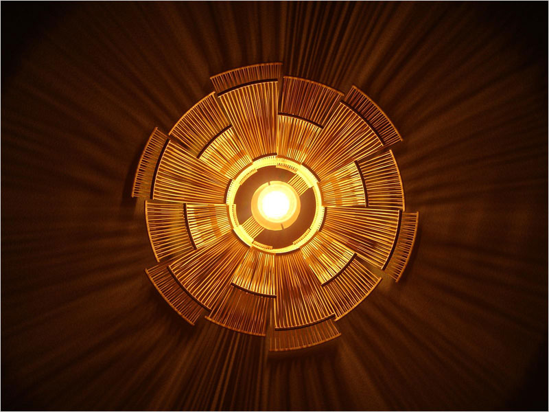 Toshiyuki Tani HOKORE シェード【照明 ランプ ライト 谷俊幸 ミッドセンチュリー モダン インテリア 結婚祝い 引越祝い 新築祝い】