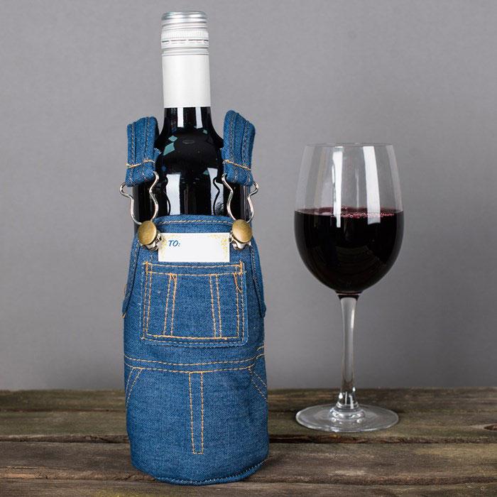 アクータメンツ ワインボトルオーバーオール ワインバッグ ワインボトルケース ギフト 贈り物 プレゼント お土産 ラッピング ボトル カバー 容器 ネック キープ ケース ラベル ワイン ワインクーラー ワインセット ワインオープナー