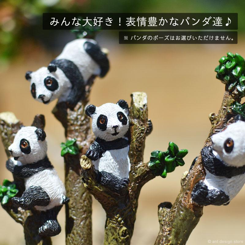 表情豊かなパンダのボールペン