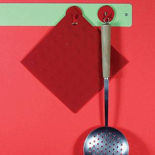 Three by Three Seattle Spot-on ミニマグネットフック 4個セット  【マグネット フック収納 キッチン キー 鍵 カギ アクセサリー インテリア カラフル スリー・バイ・スリー・シアトル デザイン】