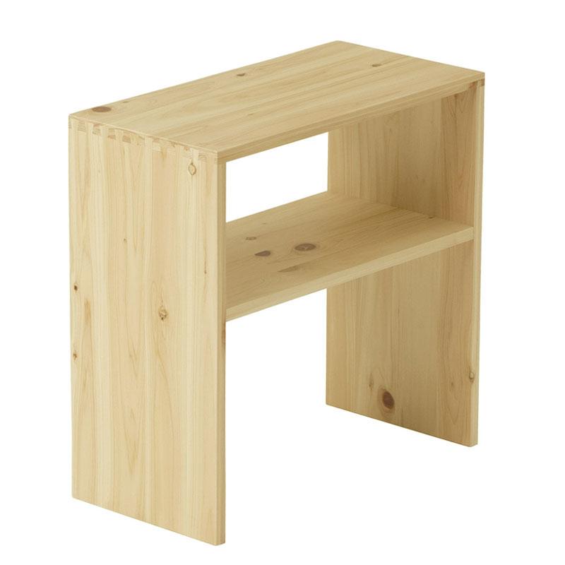Homecoming ナイトテーブル【ホームカミング ベッド 寝具 インテリア ひのき 檜 木製 ベッドルーム サイドテーブル 棚 机 収納】