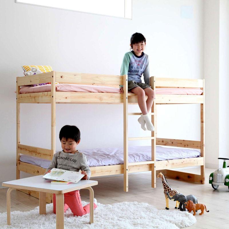 Homecoming NB02 ホワイトアッシュのすのこベッド (ナチュラル) シングル【ホームカミング ベッド 寝具 インテリア カナダ 木製 木のベッド スノコベッド】