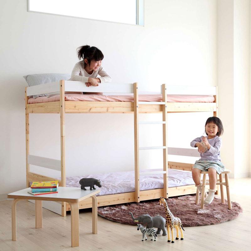 Homecoming NB02 ホワイトアッシュのすのこベッド (ライトブラウン) シングル【ホームカミング ベッド 寝具 インテリア カナダ 木製 木のベッド スノコベッド】