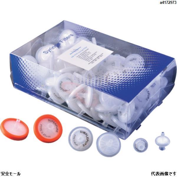 商品画像a4172973大阪ケミカル MSシリンジフィルター PTFE(疎水性)(100個入) サイズ25mm PTFE025045 1箱