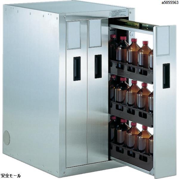 商品画像a5055563【代引き不可】 TRUSCO 耐震薬品庫 458X600XH800 3列引出型 TK3 1台