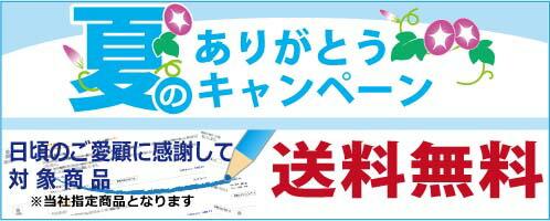 夏のキャンペーン 指定商品送料無料