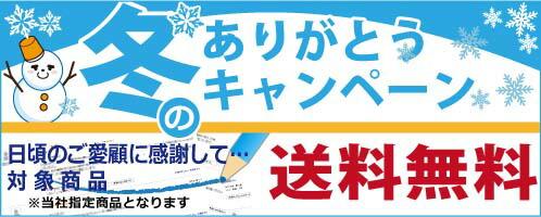 冬のキャンペーン 指定商品送料無料