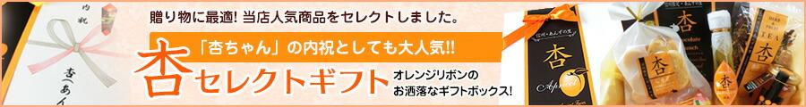 杏ちゃん内祝としても人気 あんずセレクトギフト