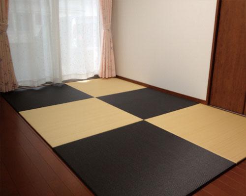 琉球畳という縁なし畳
