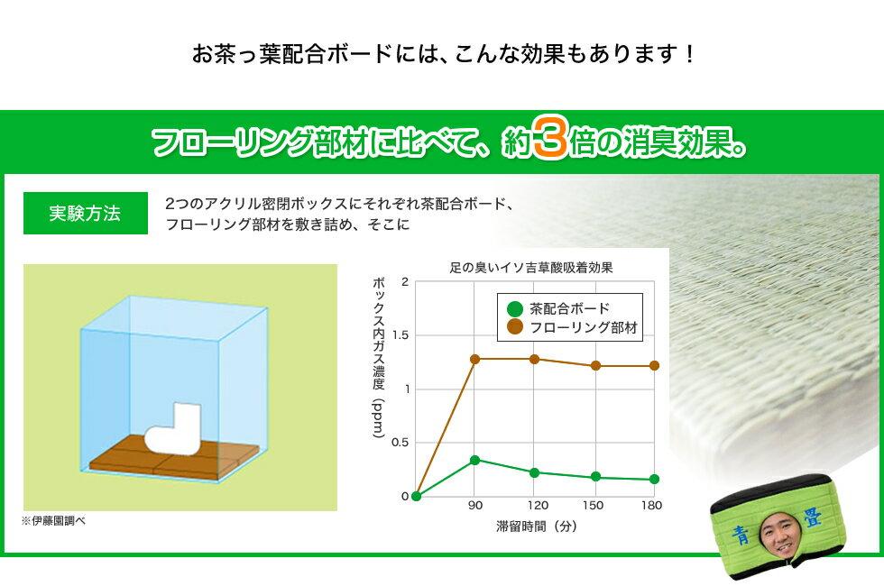 茶殻で消臭効果の置き畳ユニット畳