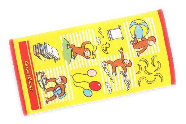 【おさるのジョージ】バスタオル【プレイングジョージ】【タオル】【たおる】【ひとまねこざる】【グッズ】【キャラ】【絵本】【アニメ】【雑貨】【Curious George】【かわいい】