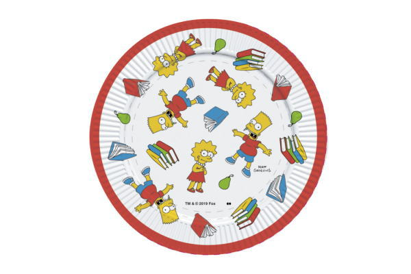 【メール便等送料無料/代引・後払決済不可】【ポイント消化】【ザ・シンプソンズ】【The Simpsons】メラミンプレート【SCHOOL】【シンプソンズ】【ランチ】【お皿】【皿】【さら】【おさら】【プレート】【ランチプレート】【遠足】【グッズ】【ピクニック】【かわいい】