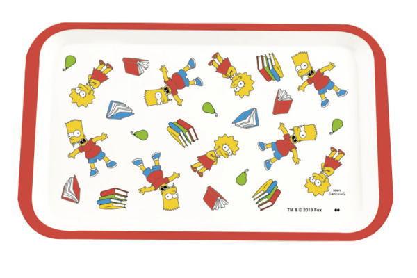 【メール便等送料無料/代引・後払決済不可】【ザ・シンプソンズ】【The Simpsons】メラミントレイ【S】【SCHOOL】【シンプソンズ】【ランチ】【トレイ】【トレー】【プレート】【ランチプレート】【ピクサー】【おぼん】【グッズ】【ピクニック】【かわいい】
