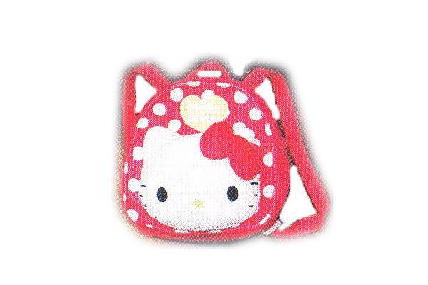 【サンリオ】【ハローキティ】キッズリュック【赤】【キティ】【キティちゃん】【リュックサック】【リュック】【小物入れ】【カバン】【鞄】【ケース】【グッズ】【かわいい】