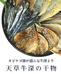 天草牛深の干物セット キビナゴの干物