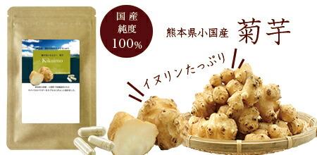 菊芋サプリメント イヌリン 国産