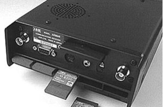 AR8600MARK2 背面+オプションカード