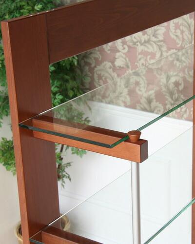 飾り棚に使えるお洒落なイタリア製の4段シェルフ