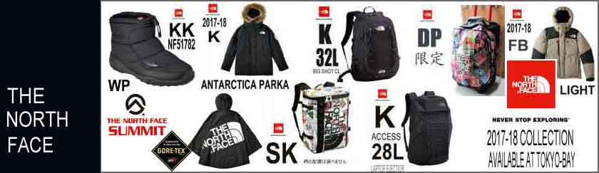 THE NORTH FACE 2017 FALL