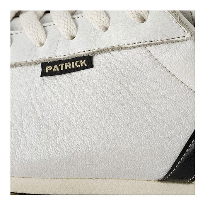 パトリック ネヴァダ レザー スニーカー メンズ レディース シューズ 日本製 ホワイト WHITE 白 男性 女性 PATRICK NEVADA II 17510 送料無料