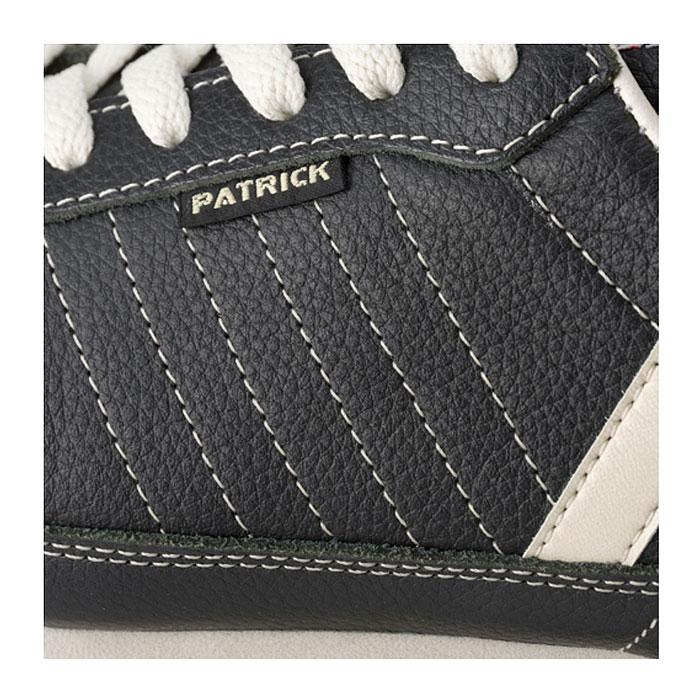 パトリック マラソン レザー スニーカー メンズ レディース シューズ 日本製 ブラック BLACK 黒 男性 女性 PATRICK MARATHON-L 98701 送料無料