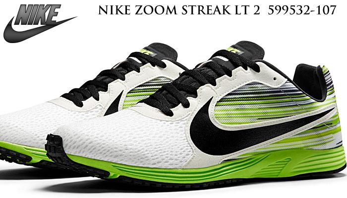 reputable site 74407 37c8e Shop Cheap MEN S Nike Zoom Streak LT 3 Black Voltage Green White Shoes Size