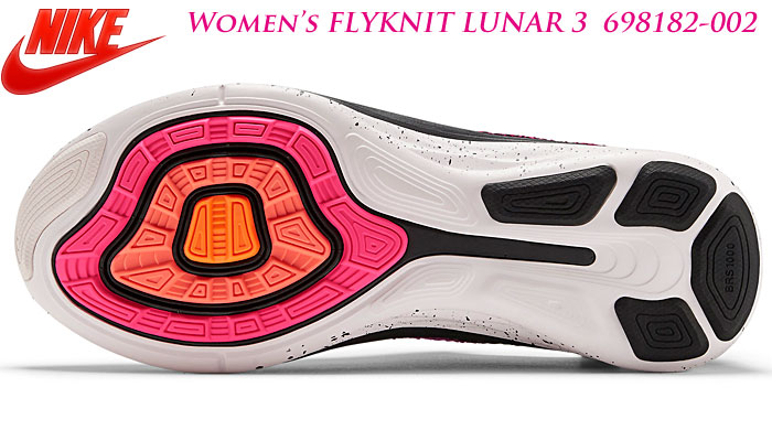 7b7d37d3b939 Nike women s Flint Luna 3 002  black and pink paw total orange white. Nike  limited edition ...