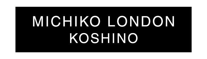 MICHIKO LONDON KOSHINO ミチコロンドンコシノ
