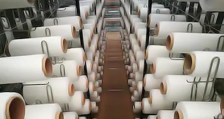 工場の糸の画像
