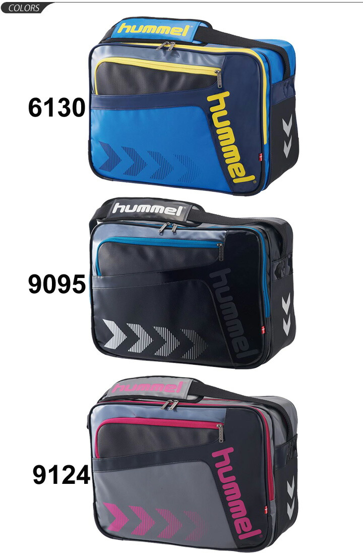519939246e APWORLD  Hummel Hummel   shoulder bag enamel bag L size bag sports ...