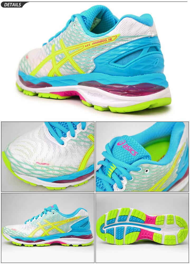 Aureola De Gel Asics 18 Damas Zapatos Para Correr B7yGz
