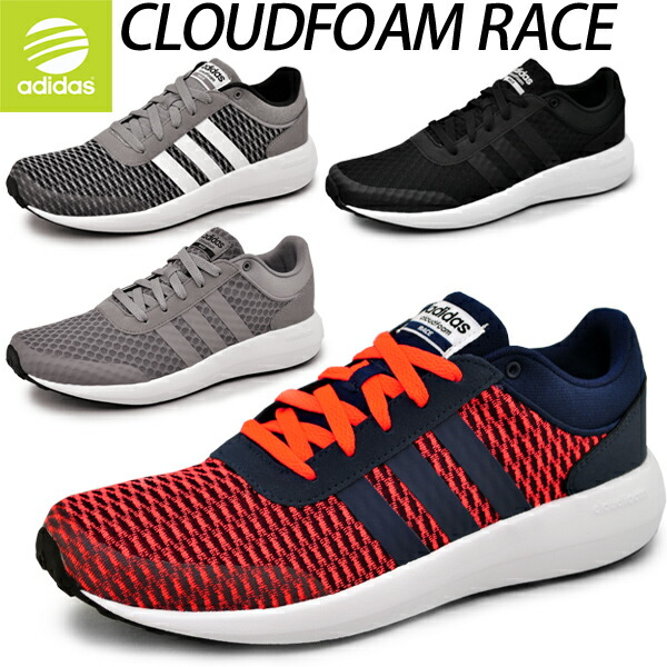 adidas cloudfoam race red
