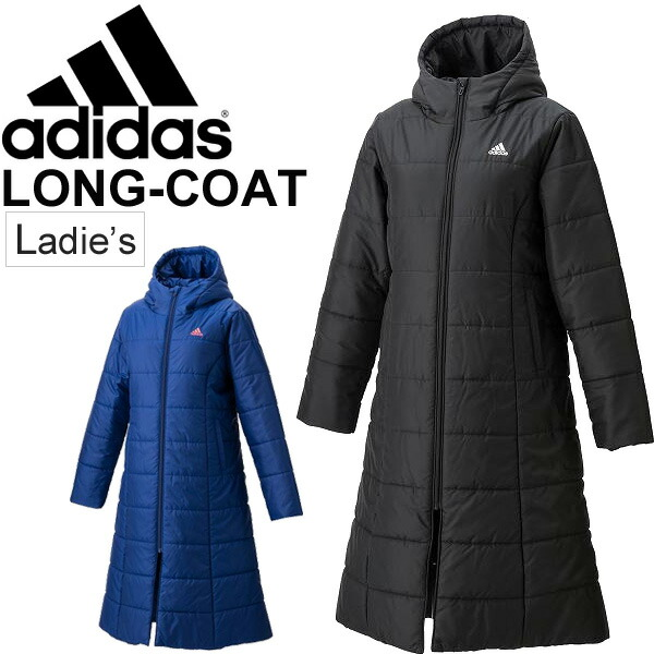 e5d34b19a315 APWORLD  Adidas Ladies padded long coat adidas outerwear women ...